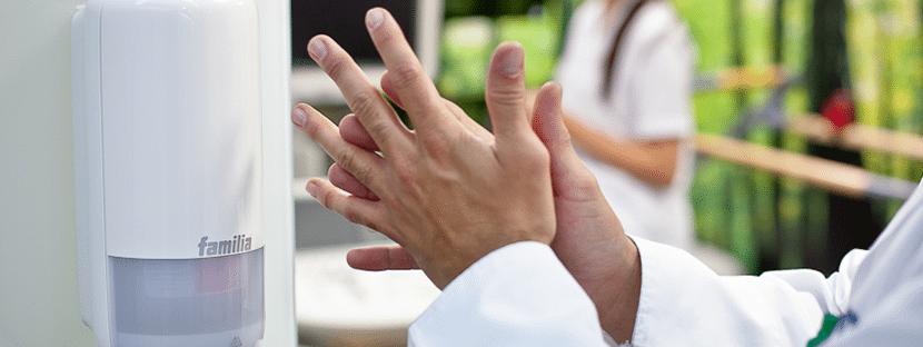 Higiene de manos - Familia Institucional