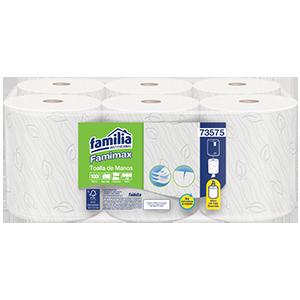 Toalla de manos flujo central Famimax - Familia Institucional