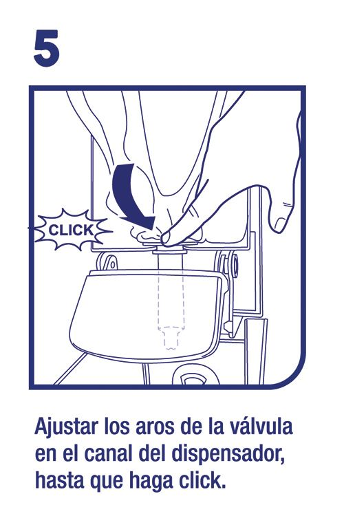 Uso dispensador gel antibacterial - Familia Institucional