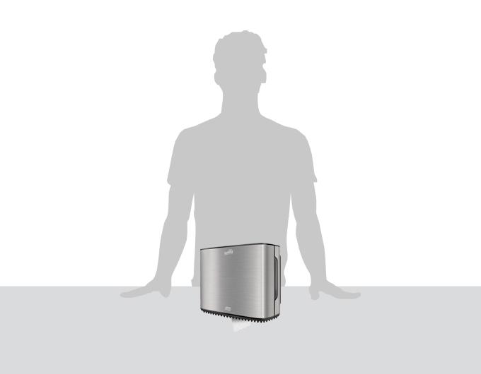Dispensador papel higiénico jumbo pequeño Luxury - Familia Institucional